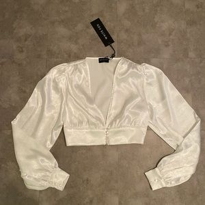 White fox boutique cassia crop top